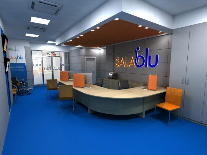 Sale Blu Ferrovie : Ferrovie dello stato sala blu per la stazione di metaponto