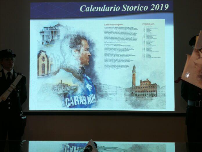 Calendario Storico Carabinieri 2019.Calendario Dell Arma Dei Carabinieri 2019 Nel Mese Di